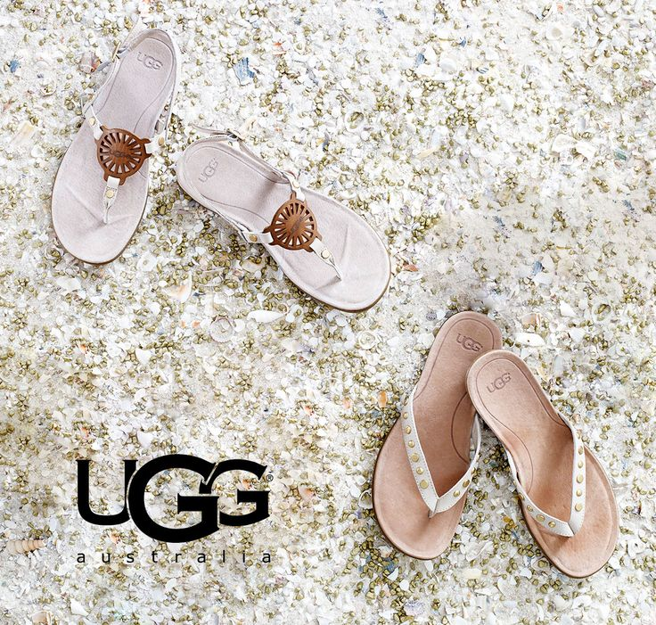 As the weather warms up, so do the styles from UGG! Shop the latest sandals that just arrived and let your feet enjoy what spring has to offer.