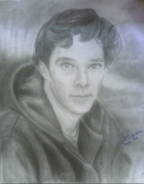 Benedict Cumberbatch  My drawing On A3 paper