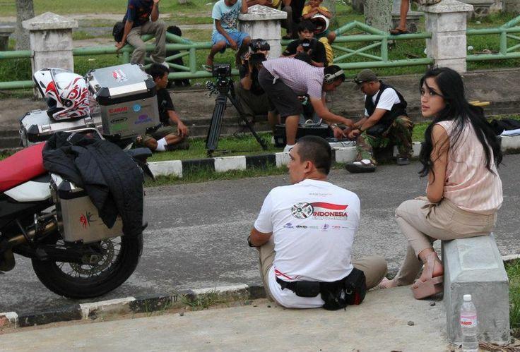 Palembang 23/02/2011 with Jessica Iskandar