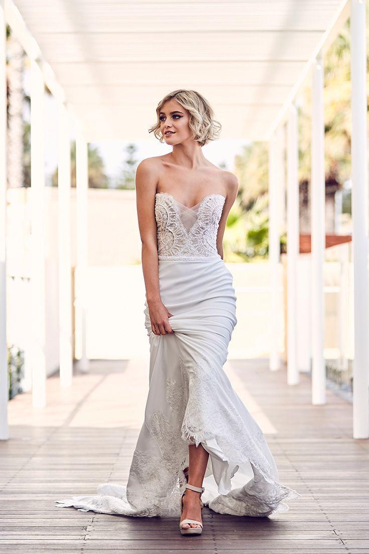 Wedding Dress St Laurent Peter Trends Bridal Sydney Wedding Dress Couture Wedding Dresses Dresses