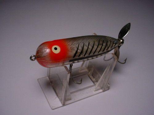 OLD HEDDON MAGNUM TORPEDO FISHING LURE CRANKBAIT LURES MINT! RARE HEDDON BAIT !!
