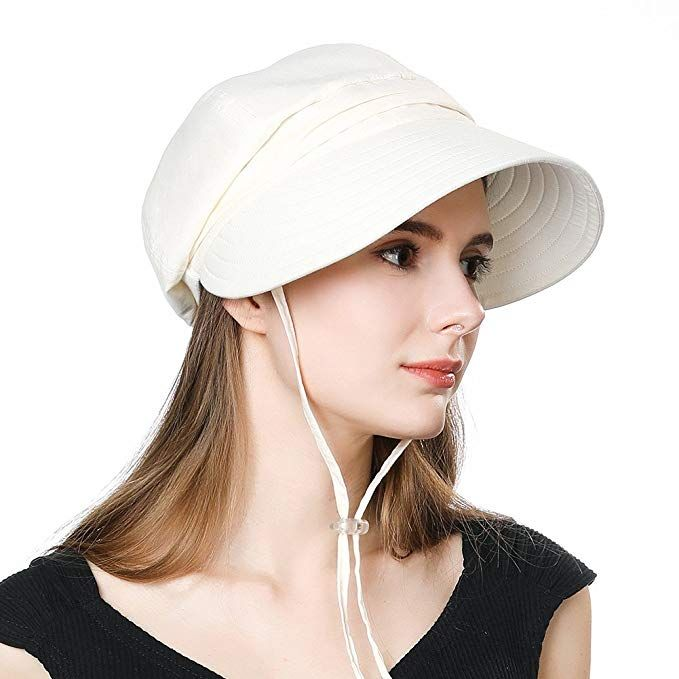 Siggi Summer Bill Flap Cap Upf 50 Cotton Sun Hat With Neck Cover Cord For Women Sun Hats Hats Caps Accessories Women Clothin Sun Hats Beige Hat Upf