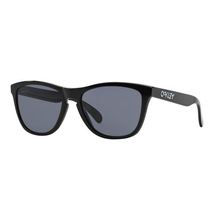 Oakley Frogskins OO9013 55mm Square Sunglasses, Adult Unisex, Black