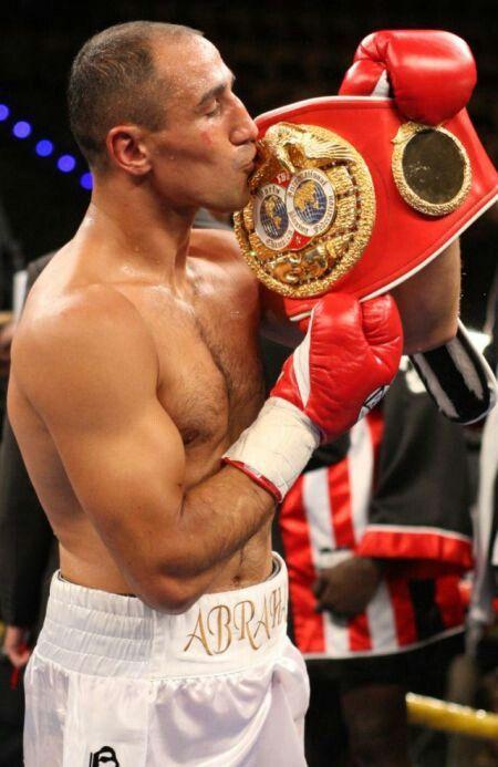 ARTHUR ABRAHAM: Professional Boxer-WBO Super Middleweight World Champion
