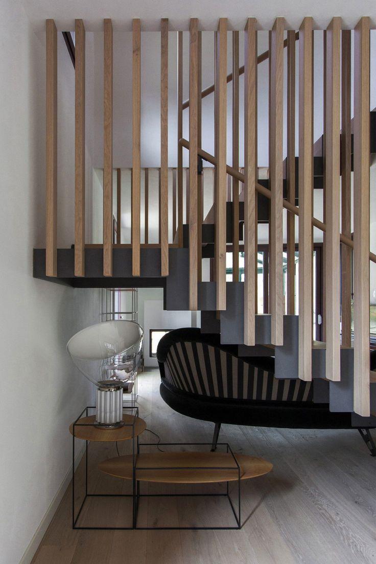 Riccardo Cassina Corrado Spinelli Architetti Design a Contemporary Home in Brenna, Italy