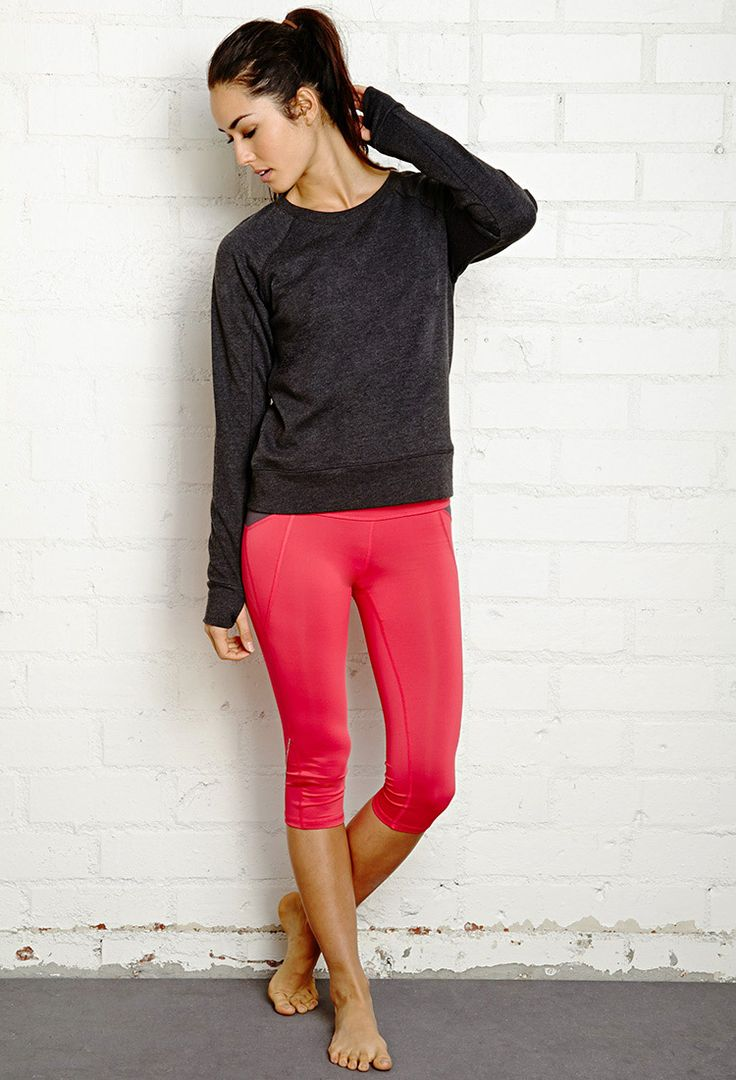 Sporty French Terry Pullover | FOREVER21 - 2000126683