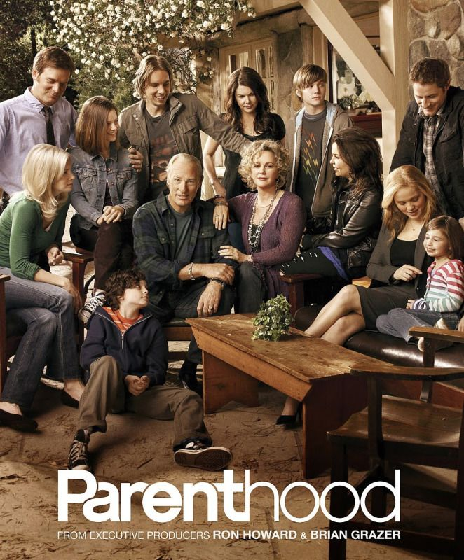 Parenthood. Great show. I don't really watch tv, but grabbed this on Netflix in desperation one night. So in love. I love that I can relate to almost every character.