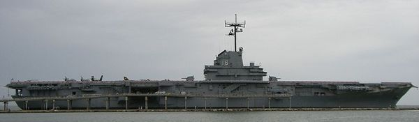One of the most haunted ships in the United States today, the USS Lexington in Corpus, Christi, Texas. This particular ship is said to be an area that houses a number of spirits.