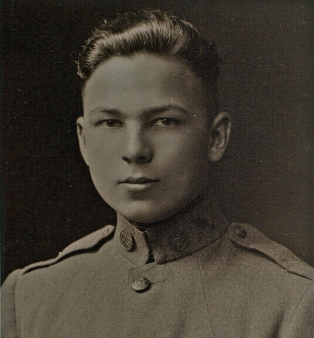 Frank Buckles at 16 years old. He was the last surviving U.S. World War I veteran. (1901-2011)