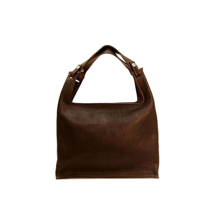 The Supermarket Bag is a modern classic - inspired from a simple plastic bag with handles. These bags include everything you need, nothing more, nothing less. Eco means that these leather bags are made of certified vegetable tanned, chrome-free leather. Only natural dyes are used during the tanning process. Due to the natural dies, only earthy and woody tones like black and brown are available through this method.