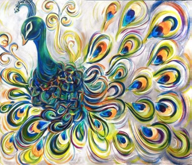 20 Best Images About Lemme Paint Yer Peacock Cock Cock On Pinterest Hot Glue Guns Acrylic