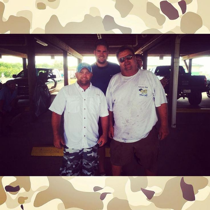Holes annual fishing tournament this year Mike, Trey, and