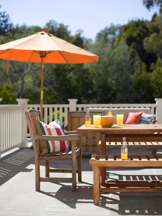 Home Tour: Decorating With The New Neutral. Wood FurnitureOutdoor ... Part 84