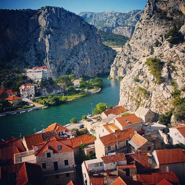 Omis, Cetina River, Croatia. #croatia #hrvatska #chorwacja #cetina #omis