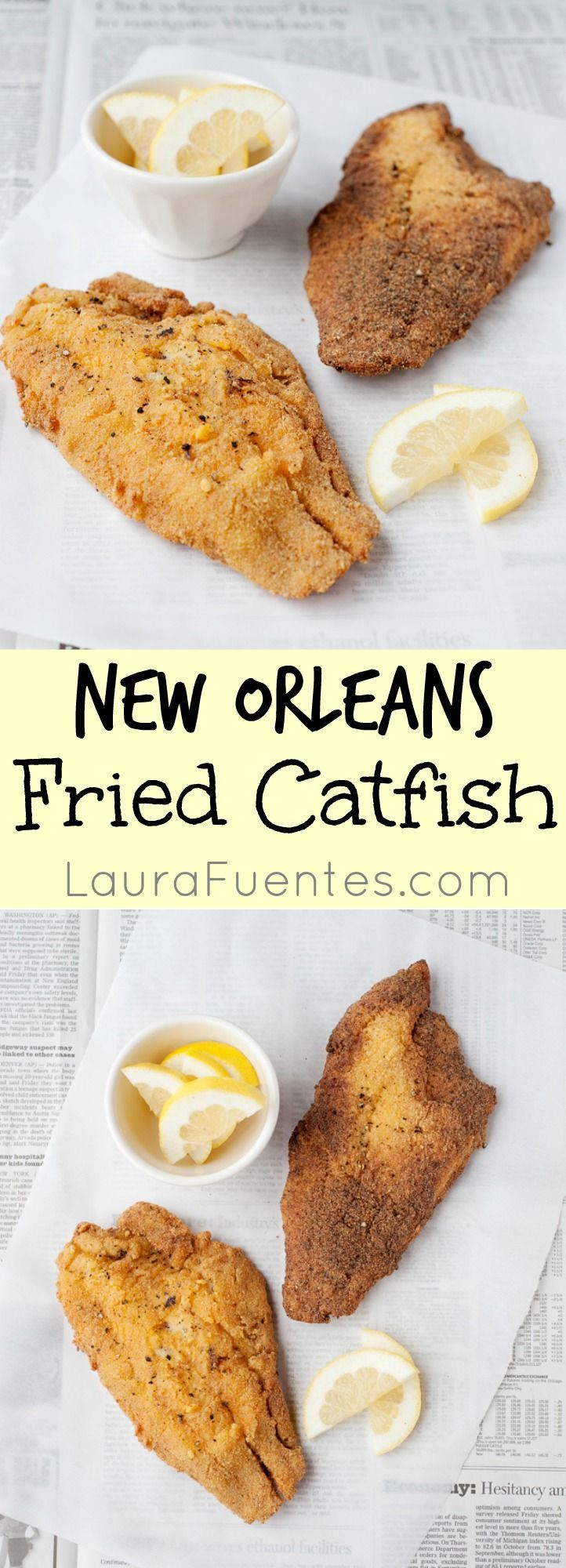 A good batter is what sets fried catfish apart, and this New Orleans Fried Catfish recipe is one you'll make often. With just a couple of ingredients, it's done!