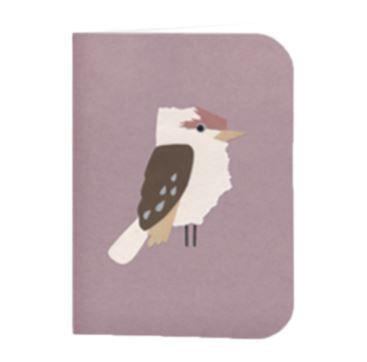 Greeting Card - Kookaburra - Bobangles #SundayPaper #Australia #greetingcard #card #kookaburra