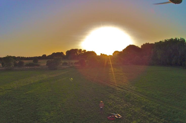 Last (f)light for today w/ DJI Phantom