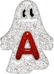 Alfabeto de fantasmitas tintineantes./thank you debbie campbell for sending
