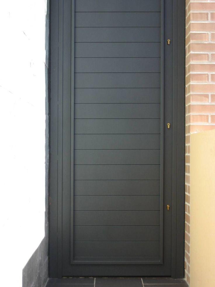 Mejores 9 im genes de fachadas en pinterest puertas de - Puertas exterior hierro ...