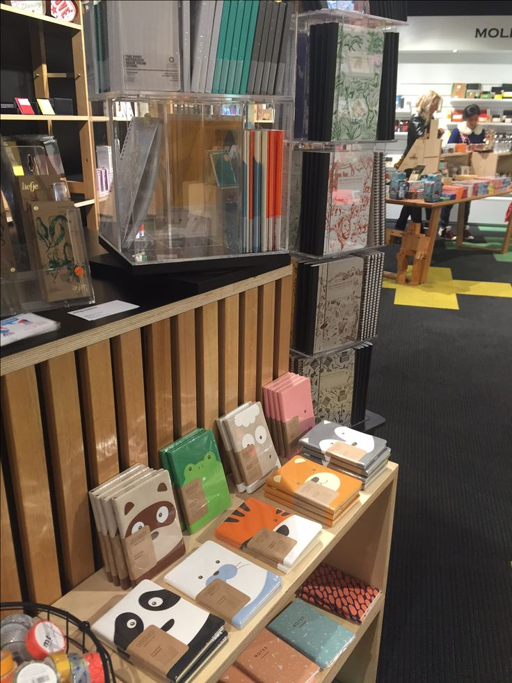 Daycraft Animal Pals diaries on display at Magnation Emporium in Melbourne.
