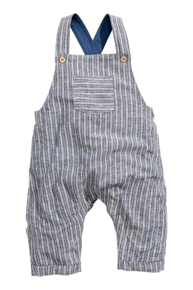 Dungarees in a linen blend | H&M