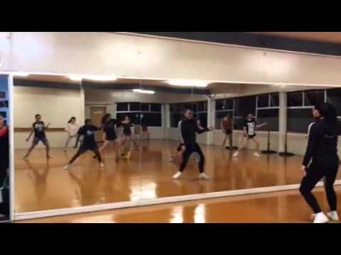 Senior Hip Hop Class, SMB Dance International