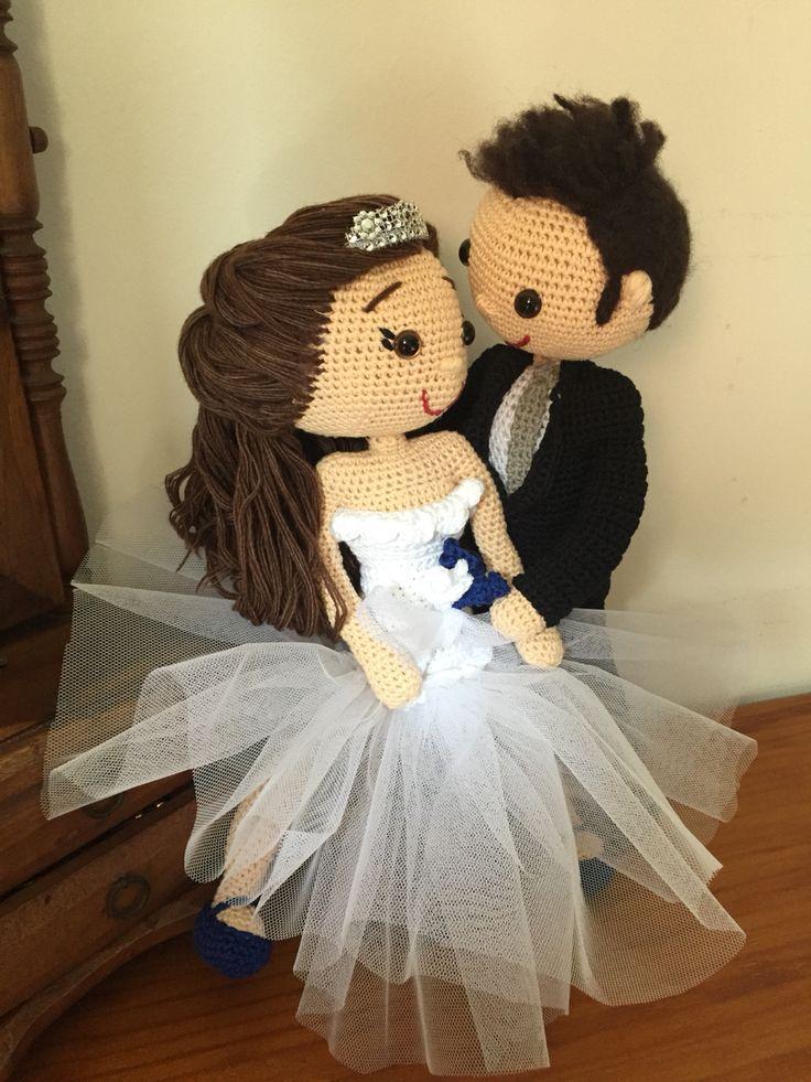 #amigurumi #amor #artesanía #Love #lana #blanco #boda#wedding ##novia#novio#diy #handmade #hechoamano #craft #crochet #crochetadict