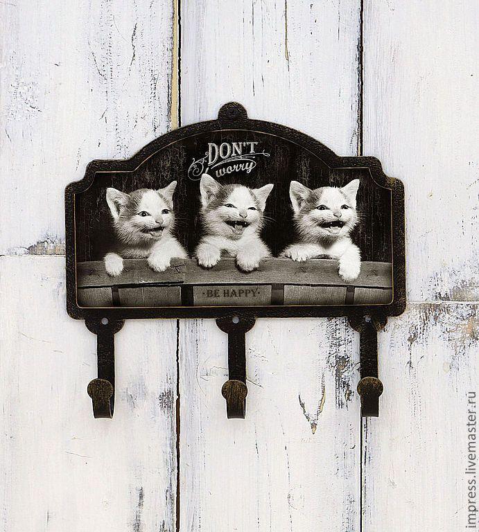 картинки для декупажа котики черно белые одна любимых мною