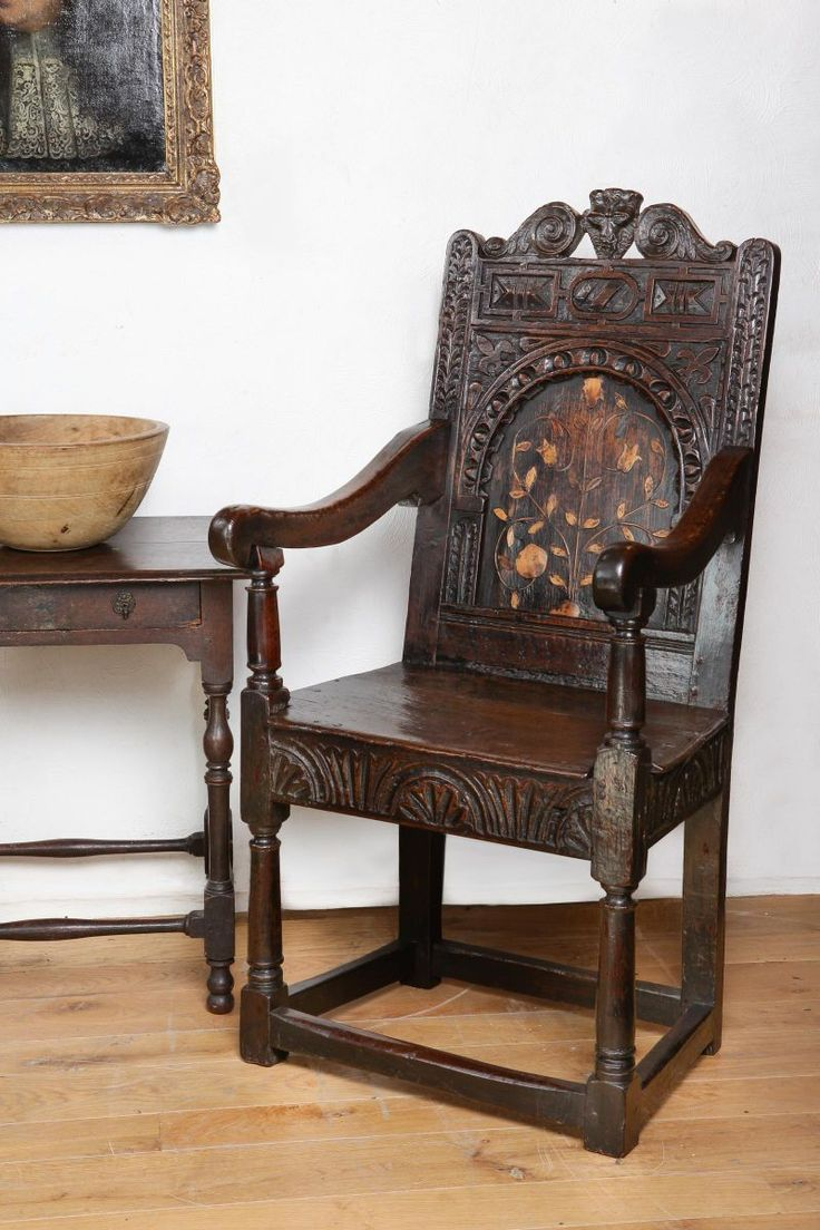 242 best elizabethan furniture images on pinterest for Antique furnishings