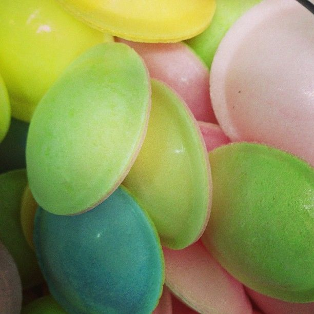 Ufos.. Flying Saucers.. Sherbet.. Wedding Lolly Candy Buffet