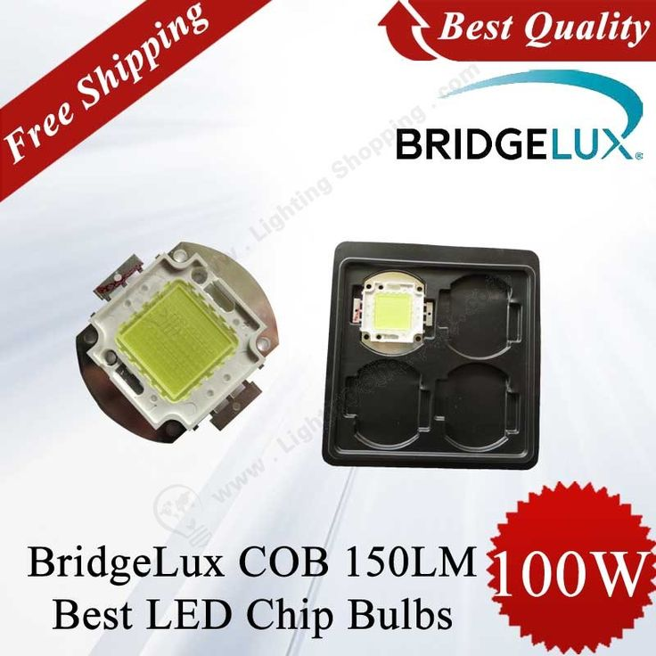 LED Lamp Beads, BridgeLux Brand, COB, 45mil, 100W, 150Lm/W - See more at: http://www.lightingshopping.com/led-lamp-beads-bridgelux-brand-cob-45mil-100w-150lm-w.html#