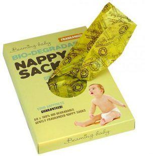 Worki na zużyte pieluszki Biodegradowale Zapachowe Beaming Baby 60 szt Toddlersi