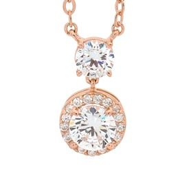 Georgini Rose Halo Drop Necklace (001-022-08290)