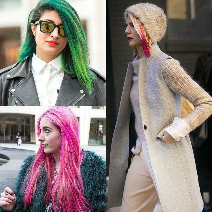 New York Sokaklarında Rengarenk Saç Modası! - http://pemberuj.net/york-sokaklarinda-rengarenk-sac-modasi/