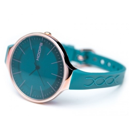 """Hoops Watch Glam L Petrol blue    http://www.patriciapapenberg.com/default/watches-2/hoops-watch/hoopswatch-glaml-petrolblue.html    Beautiful, irreverent, trendy and unique! Welcome to the HOOPS """"B + chic"""" dimension, for those who want to make fun of the time. Small and harmonious collectibles that fit and enhance your style."""