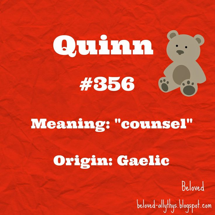 Q for Quinn!  Most Popular Boys Names By the Letter (2013)