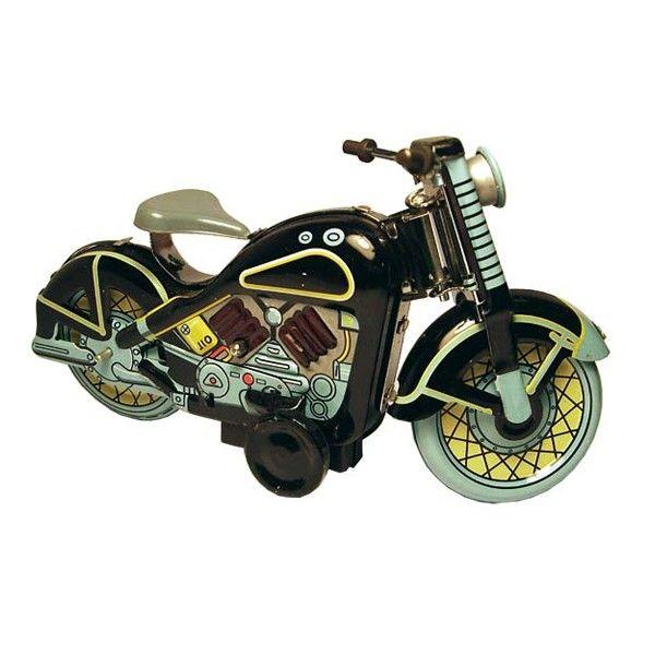 Blikken rijdende motorfiets - De Vreemde Eend