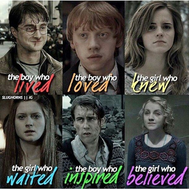 Harry Potter and his friends - image #4483009 by Derek_Ye on Favim.com