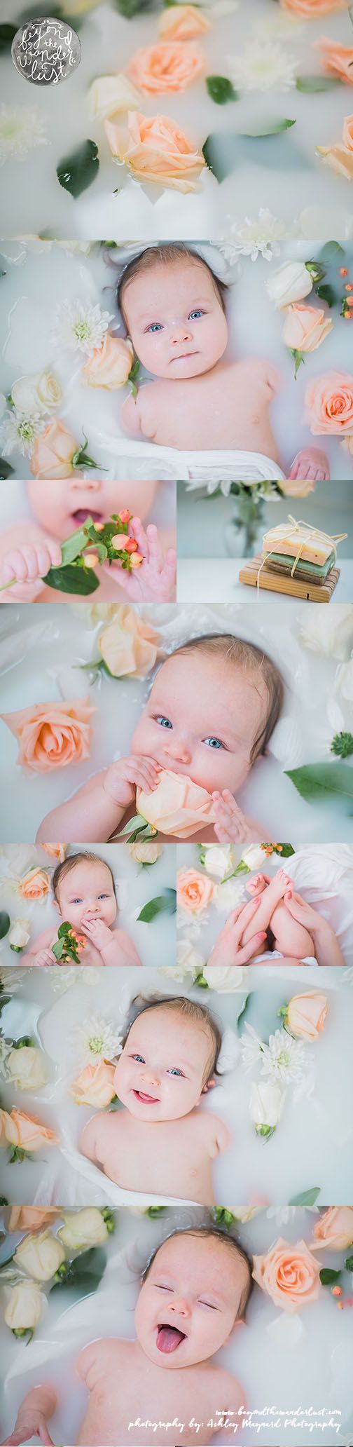 Looking to create a milk bath for a baby? Explore this session to get the perfect milk bath picture ideas.