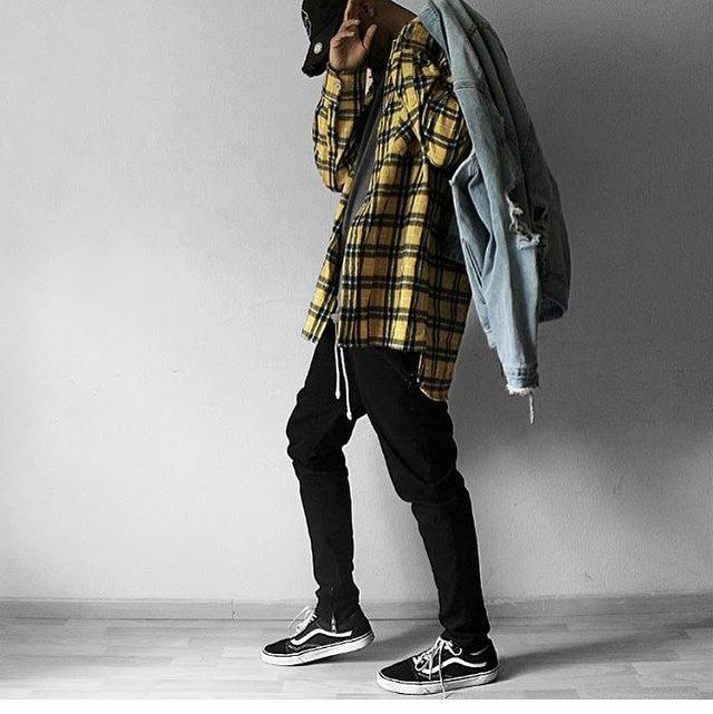 """1,538 Likes, 9 Comments - URKOOL Streetwear (@urkoolwear) on Instagram: """"S/O to our bro @seyked Killin our yellow flannel x denim jackets . Order at :www.urkoolwear.com . .…"""""""