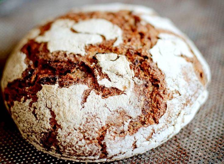 Finskt rågbröd utan vetemjöl