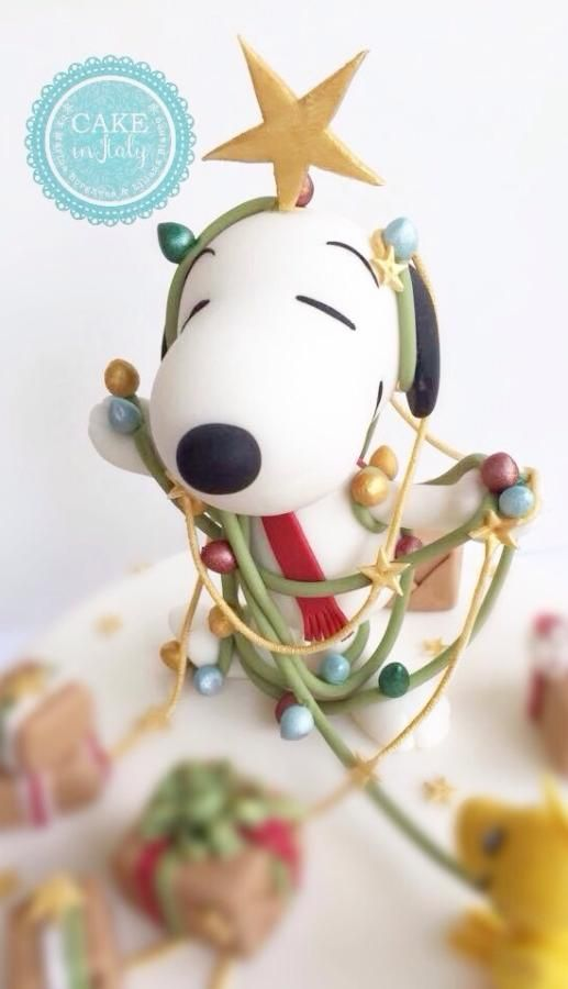 Merry Christmas by Snoopy by Cake in Italy