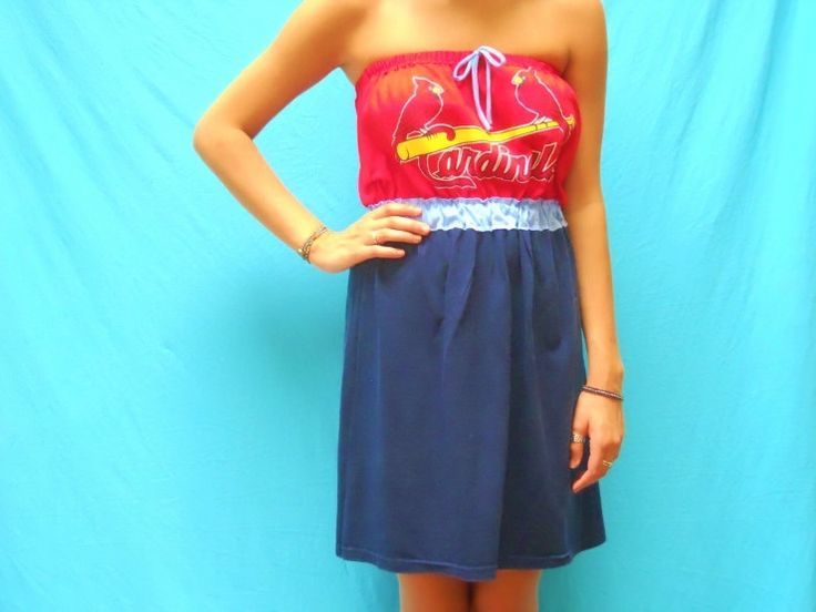 st louis cardinals dress | St. Louis Cardinals Game Day Dress by LoveMyGameDress on Etsy