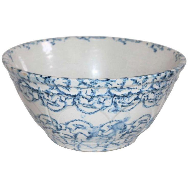 562 best Stoneware Spongeware Blue and White images on Pinterest ...