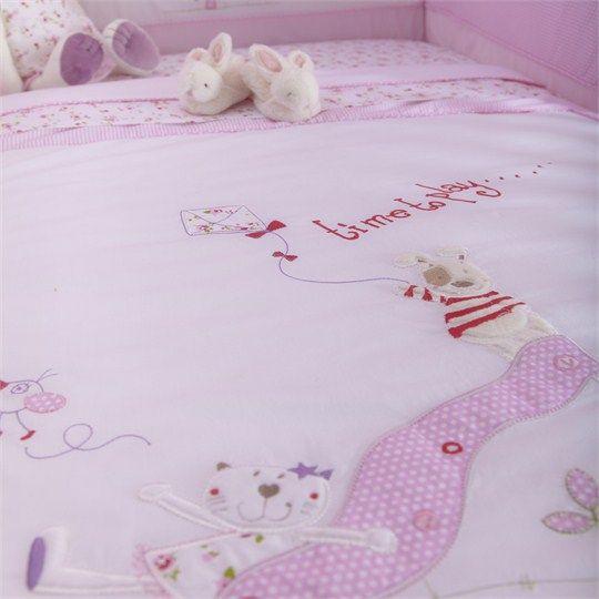 Baby Fleur Cot Bed Quilt