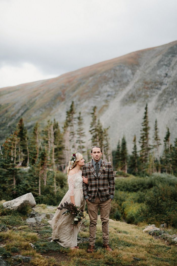 Styled Colorado Elopement