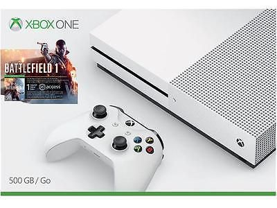 Xbox One S 500 GB Console - Battlefield 1 Bundle #LavaHot http://www.lavahotdeals.com/us/cheap/xbox-500-gb-console-battlefield-1-bundle/178301?utm_source=pinterest&utm_medium=rss&utm_campaign=at_lavahotdealsus