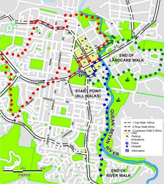 Walkways and Cycleways - Queanbeyan City Council
