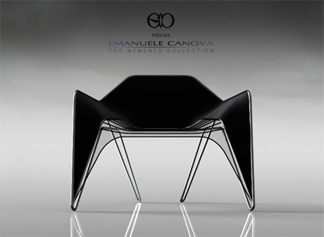 Emanuele canova pantes chair pinterest chair for Chaise design eams