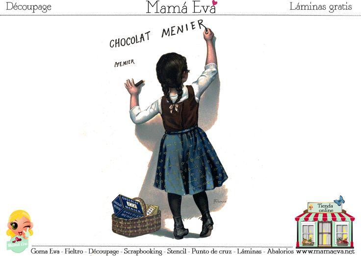 El chocolate, los jabones y muchos productos más nos dejaron imágenes tan bonitas como esta en su publicidad antigua. ¡Disfrútalas en Mamá Eva!